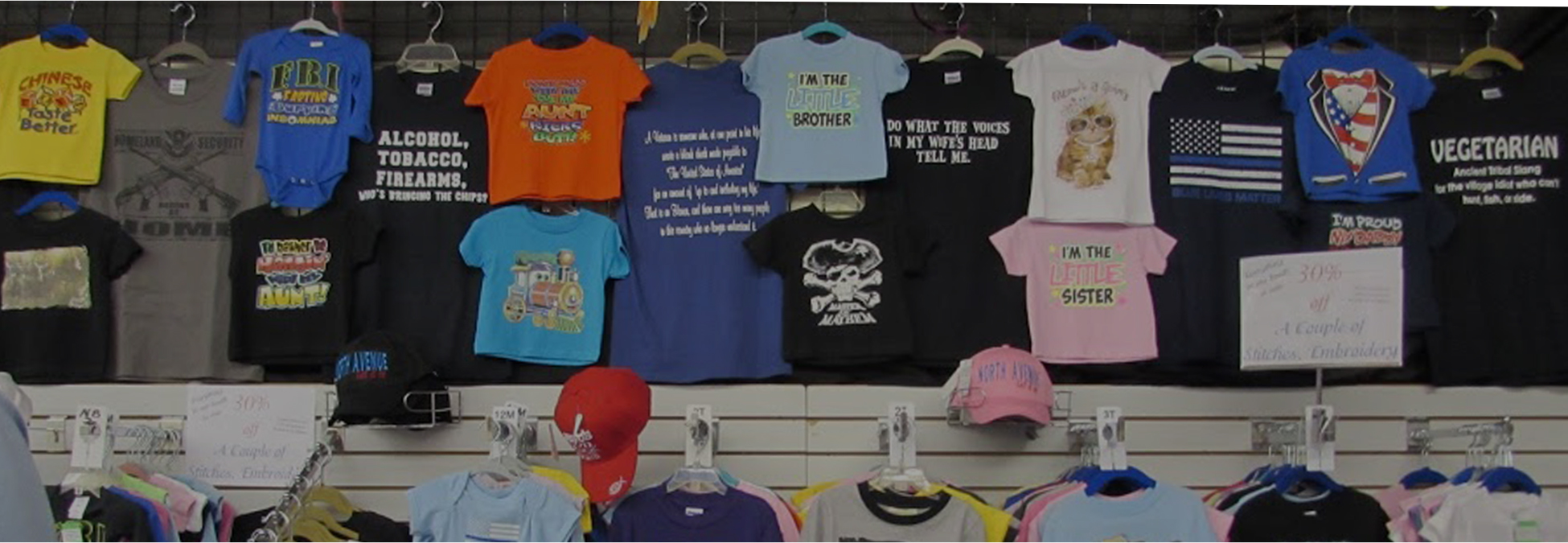 6e5959bb Embroidery Services for T-Shirts, Hats, and Bags in Grand Junction ...